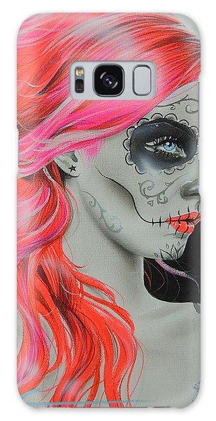 Skull Galaxy Case - De Rerum Natura by Christian Chapman Art