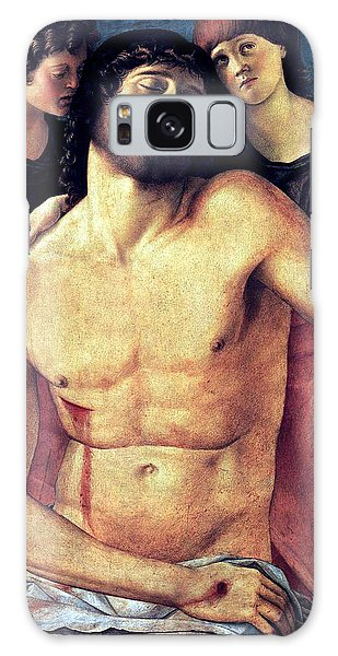 Dead Christ Supported By Angels 1485 Giovanni Bellini Galaxy Case by Karon Melillo DeVega