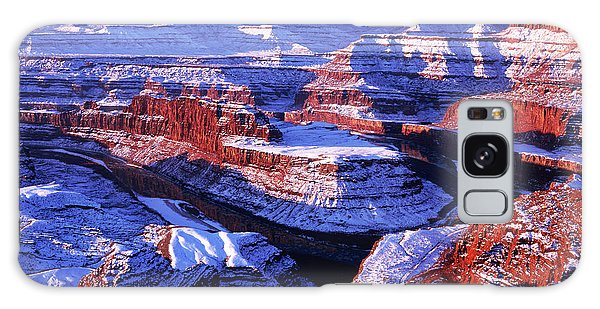 Dead Horse Point At New Year Day Galaxy Case