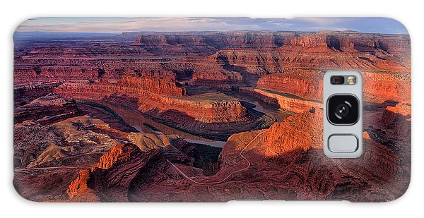 Dead Horse Point Sunrise Galaxy Case