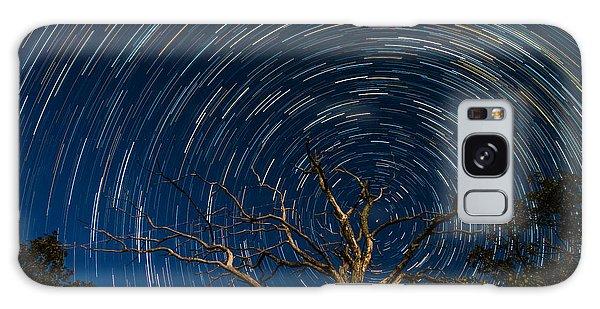 Dead Oak With Star Trails Galaxy Case