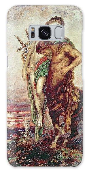 Dead Poet Borne By Centaur Galaxy Case by Gustave Moreau