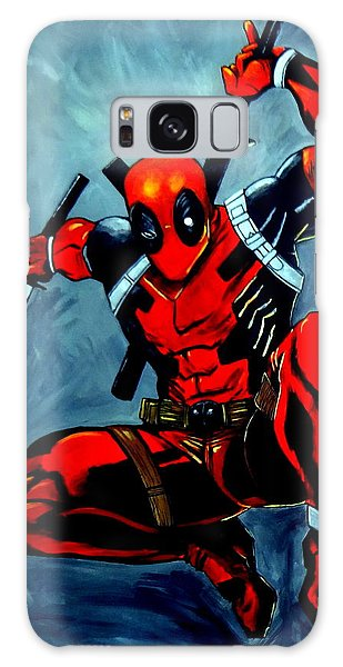 Deadpool Galaxy Case