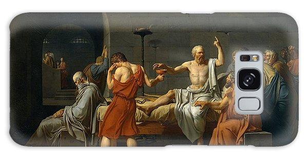 Death Of Socrates Galaxy Case