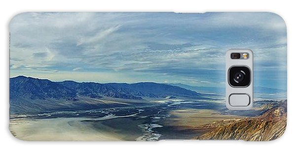 Death Valley From Above Galaxy Case