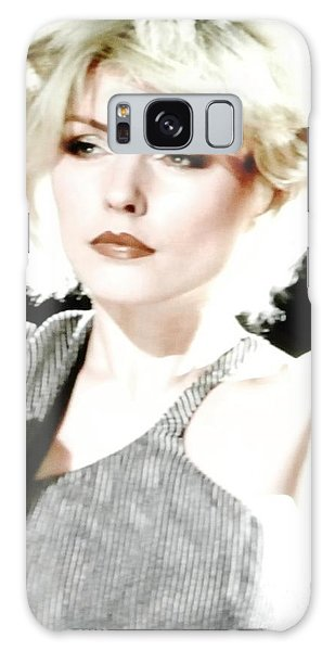 Deborah Harry Blondie Lead Singer Galaxy Case by Marsha Heiken