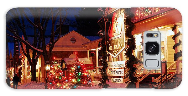 December At The Red Lion Inn Galaxy Case by James Kirkikis