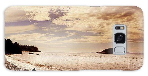 Deception Bay Washington Galaxy Case by Artist and Photographer Laura Wrede