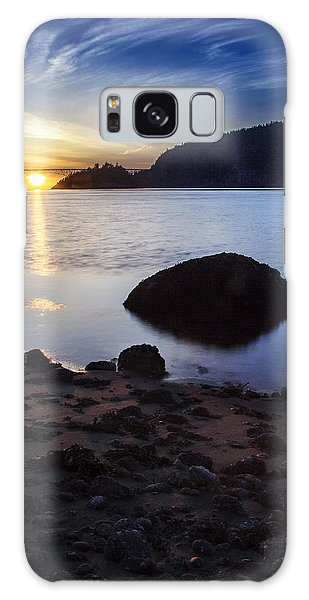 Deception Pass 3 Galaxy Case by Sonya Lang