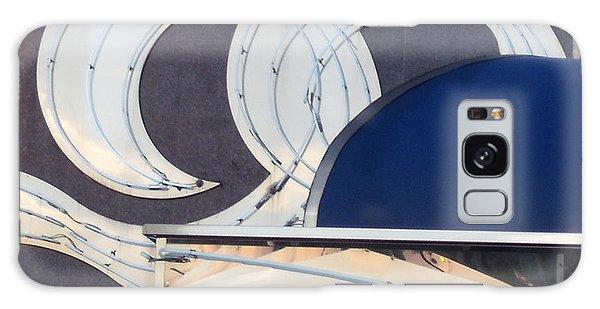 Deco Waves Galaxy Case by Lyric Lucas
