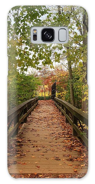 Decorate With Leaves - Holmdel Park Galaxy Case