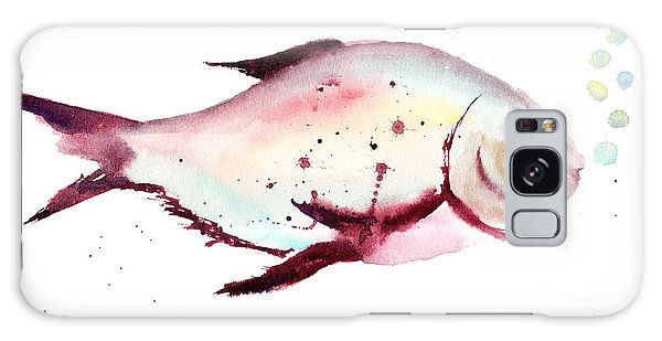 Decorative Fish Galaxy Case