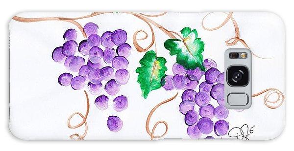 Decorative Grapes Galaxy Case