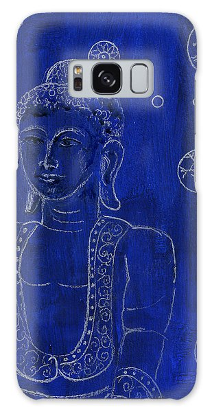 Deep Blue Buddha Galaxy Case