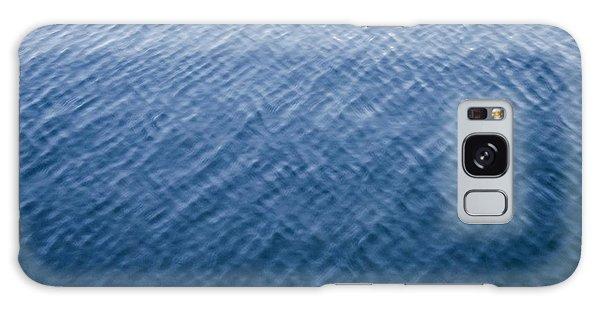 Deep Blue Water Galaxy Case