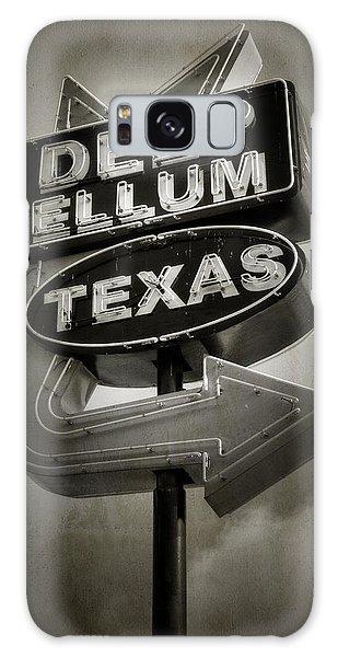 Galaxy Case featuring the photograph Deep Ellum by Joan Carroll