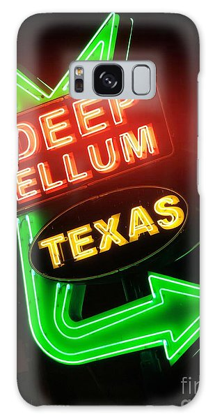Deep Ellum Red Glow Galaxy Case