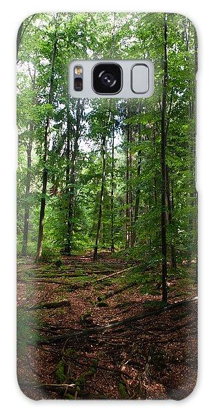Deep Forest Trails Galaxy Case