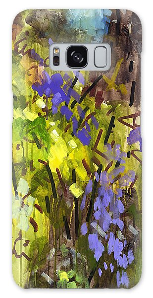Abstract Expressionism Galaxy Case - Deep In Summer by Douglas Simonson