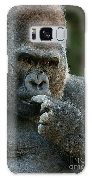 Deep In Thought Galaxy Case by Judy Whitton