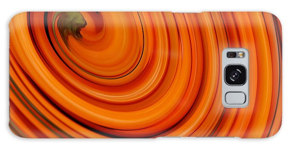 Deep Orange Abstract Galaxy Case