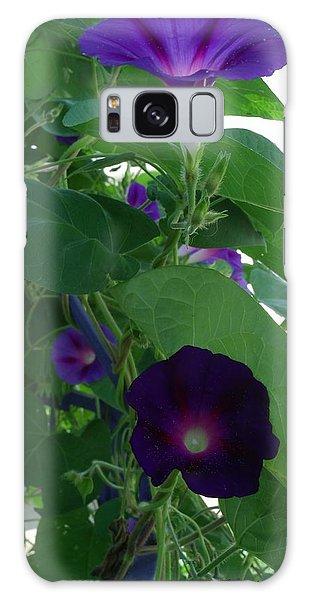 Deep Purple Morning Galaxy Case