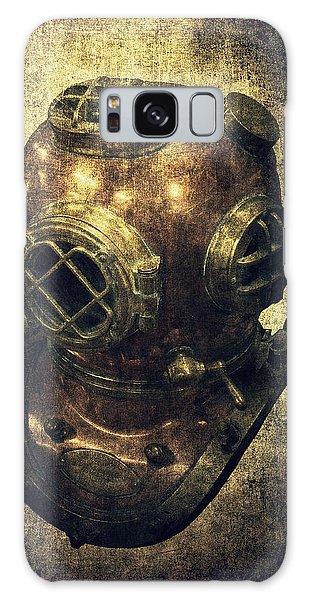 Deep Sea Diving Helmet Galaxy Case by Daniel Hagerman