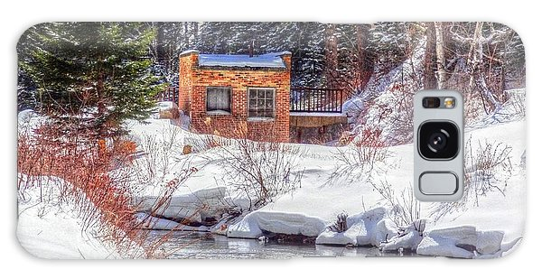 Deep Snow In Spearfish Canyon Galaxy Case by Lanita Williams