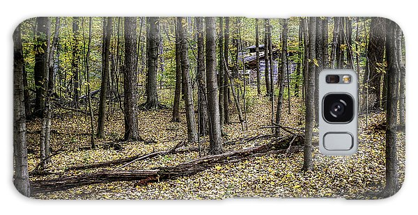 Cottage Galaxy Case - Deep Woods Cabin by Tom Mc Nemar