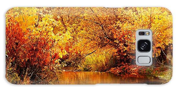 Deer Creek Autumn Galaxy Case