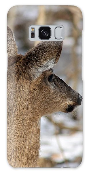 Deer Day Dreamer Galaxy Case by Lorna Rogers Photography