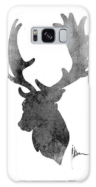 Deer Galaxy Case - Deer Head Art Print Watercolor Painting by Joanna Szmerdt