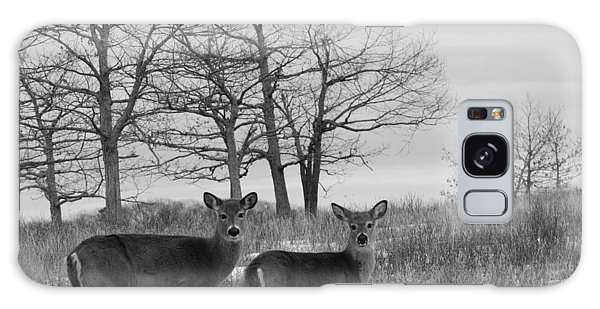Brian Rock Galaxy Case - Deer In Meadow by Brian Rock