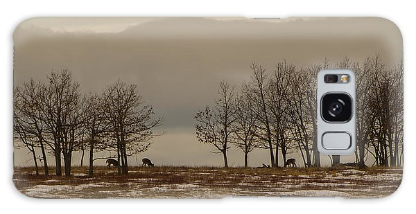 Brian Rock Galaxy Case - Deer In The Meadows by Brian Rock