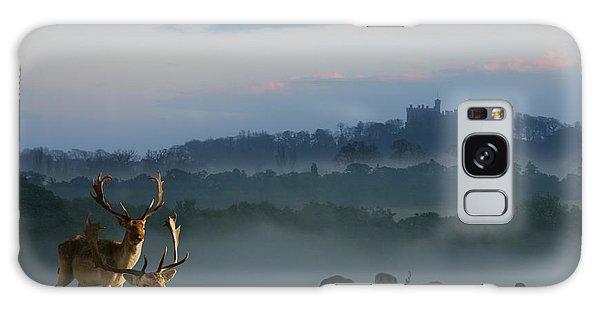 Deer In The Mist Galaxy Case