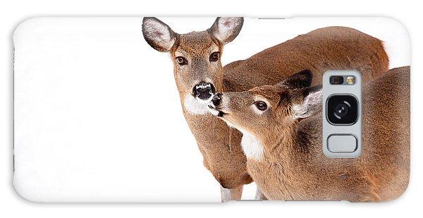 Deer Kisses Galaxy Case