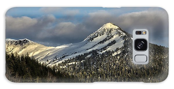 Deer Mountain With Last Winters Snow. Galaxy Case