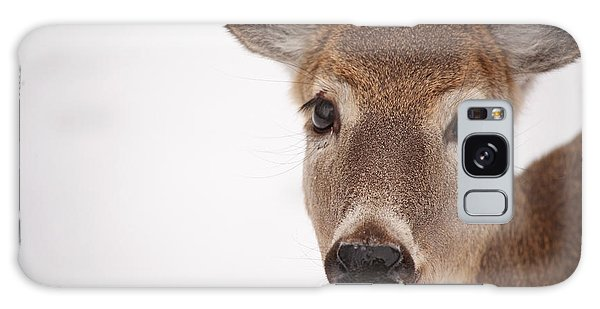 Deer Talk Galaxy Case by Karol Livote
