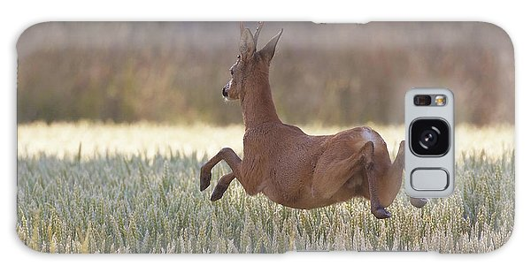 Jump Galaxy Case - Deers Flying Over The Cornfield by Allan Wallberg
