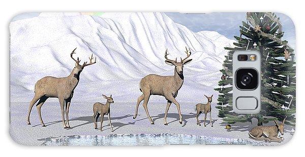 Deers Galaxy Case