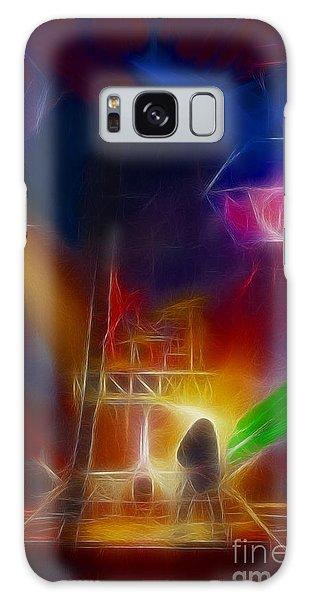 Def Leppard-adrenalize-gf10-fractal Galaxy Case by Gary Gingrich Galleries