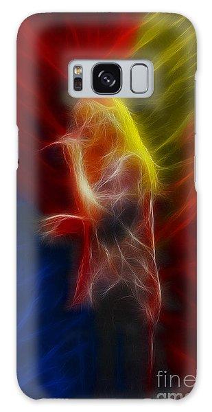 Def Leppard-adrenalize-joe-ga25-fractal Galaxy Case by Gary Gingrich Galleries