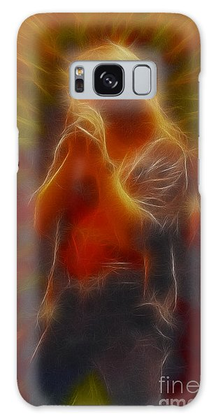Def Leppard-adrenalize-joe-gb20-fractal Galaxy Case by Gary Gingrich Galleries