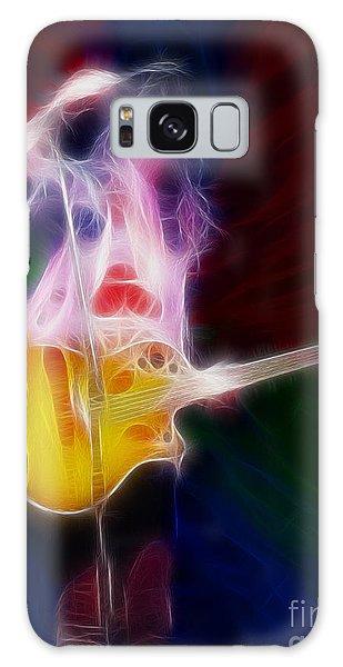 Deff Leppard-adrenalize-joe-gf25-fractal Galaxy S8 Case