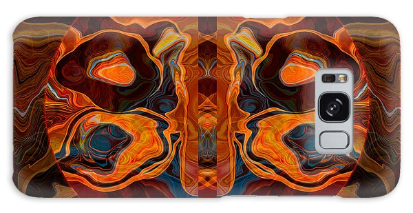 Deities Abstract Digital Artwork Galaxy Case