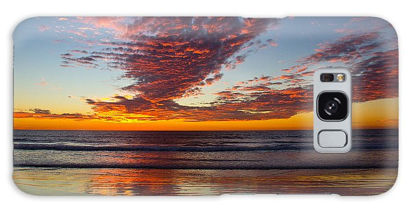 Del Mar Sunset 14 Galaxy Case