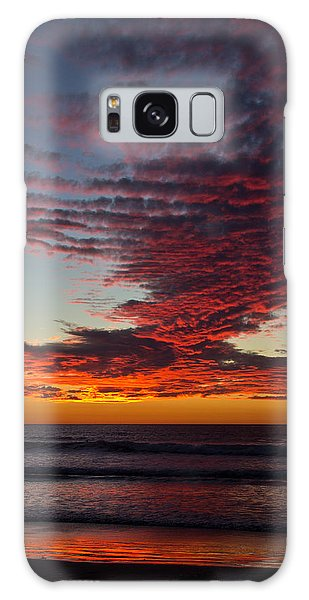 Del Mar Sunset 16 Galaxy Case