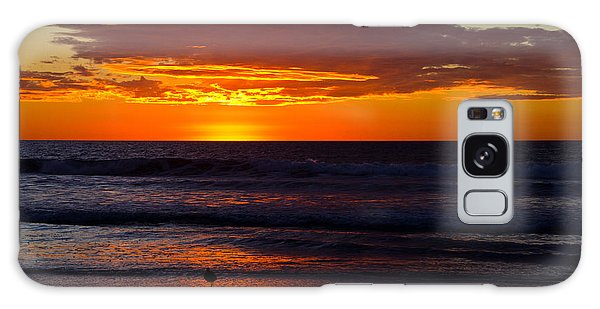 Del Mar Sunset Galaxy Case