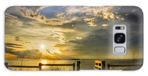 Beach Sunset Galaxy Case - Del Sol by Marvin Spates