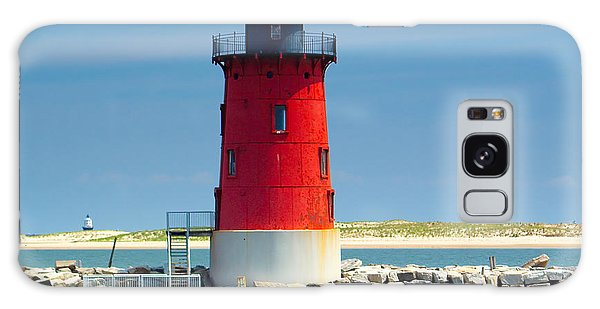 Delaware Breakwater Lighthouse Galaxy Case